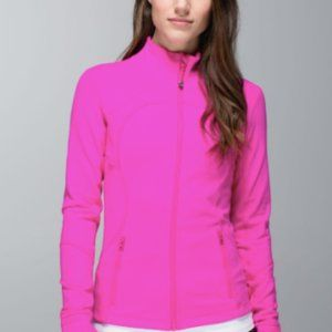 Lululemon Hot Pink Zip Up Jacket